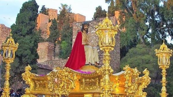 El Cristo de los Estudiantes presidirá el vía crucis de la Agrupación de Cofradías de Málaga