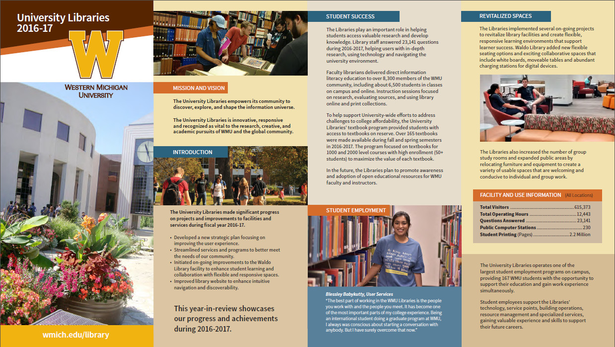 library news summary of libraries accomplishments