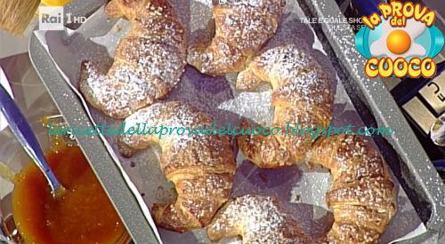 Cornetti fagottini e girelle ricetta De Riso da Prova del Cuoco