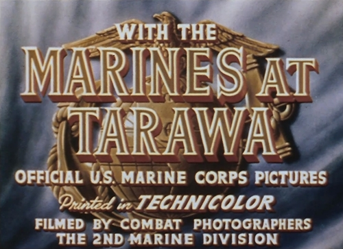 with the marines at tarawa