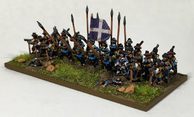 1st place: 30YW French, by bradpitre - wins £20 Pendraken credit, and a copy of the new 'Paints' magazine from Wargames Illustrated! 2