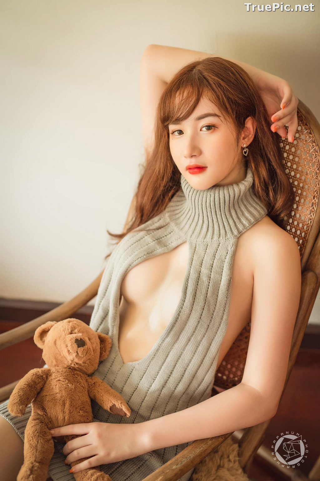 Image Thailand Model - Akair Manita - Brownie Bear - TruePic.net - Picture-4