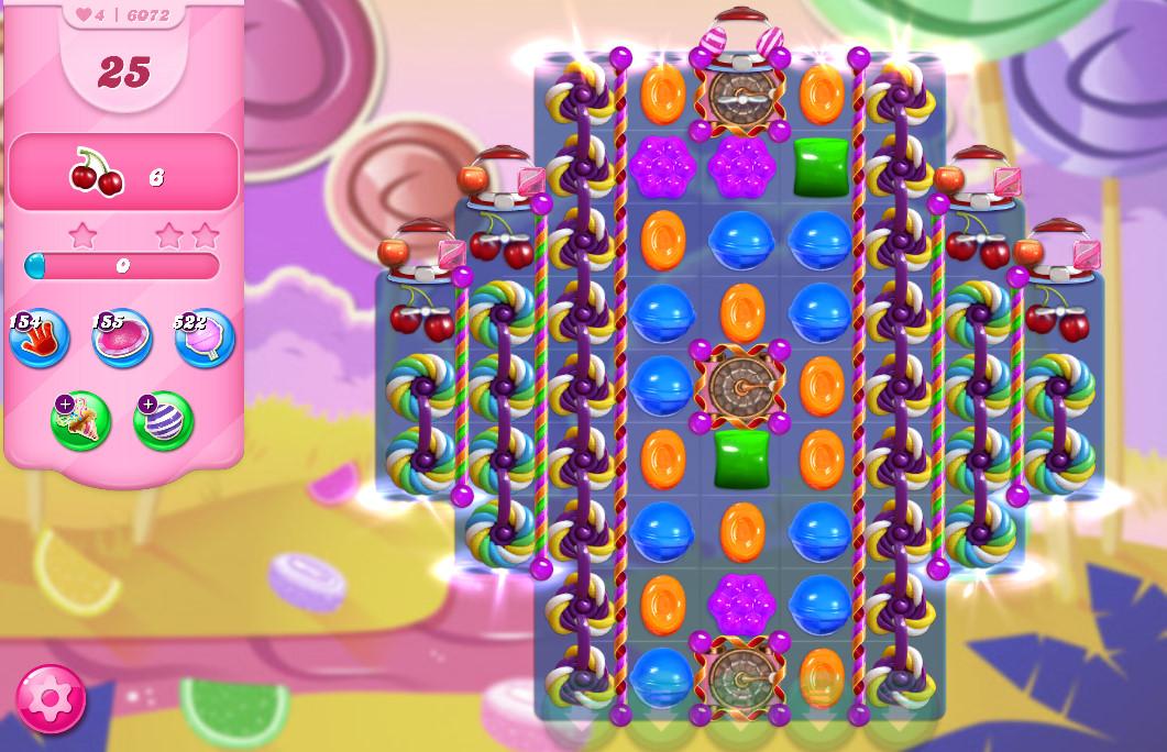 Candy Crush Saga level 6072