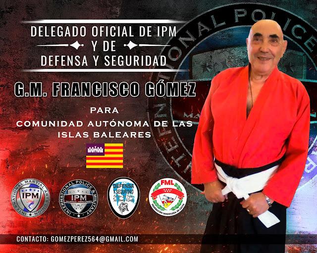 Nombramiento al GM Francisco Gómez Pérez como Delegado de la Comunidad Autónoma de las Islas Baleares de IPM