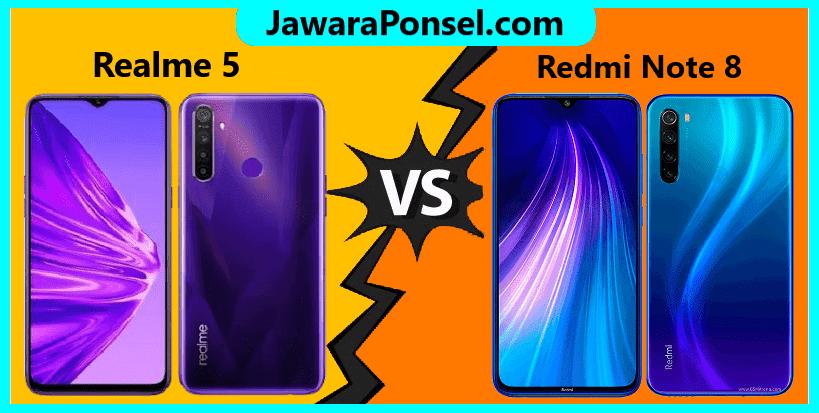 Perbandingan spesifikasi Realme 5 dan Redmi Note 8