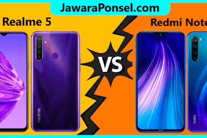 ADU Spek HP Kelas Menengah Realme 5 dan Redmi Note 8, Sobat Pilih mana ?