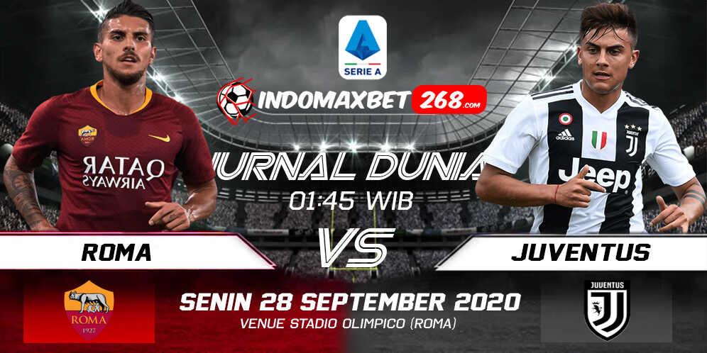 Prediksi AS Roma vs Juventus 28 September 2020 Pukul 01:45 WIB