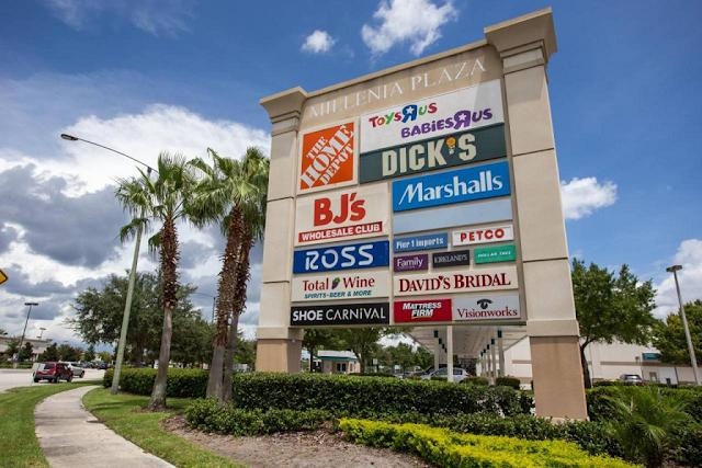 Endereço do Millenia Plaza em Orlando