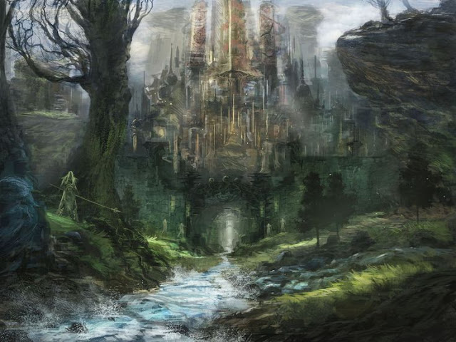 La ciudad elfa de Bel'ashir - Barrios