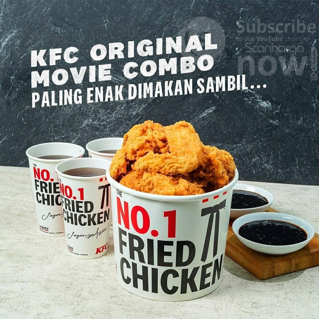 Promo KFC Original Movie Combo Harga Spesial Rp. 16.364 per paket