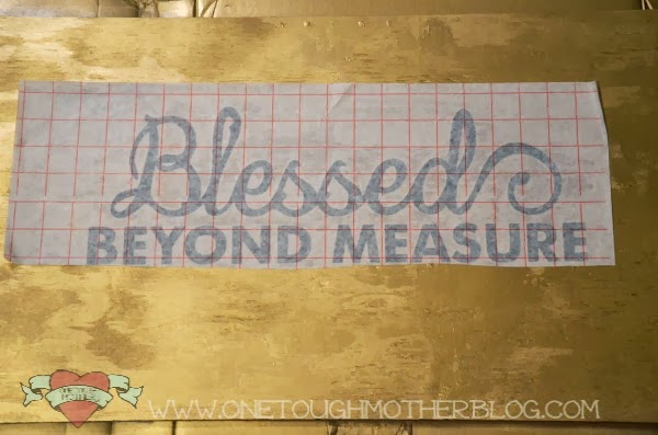Silhouette Thanksgiving Blessing Board tutorial by http://www.sweetteaandsavinggraceblog.com