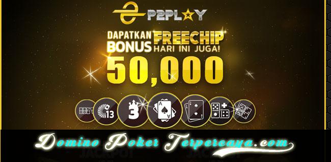 FREEBET BISABET | BONUS CHIP P2PLAY 50.000 DEPOSIT 50.000