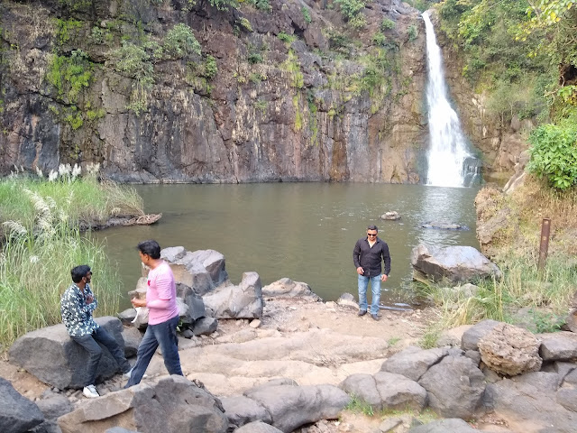 Waterfall near Surat monsoon gateway