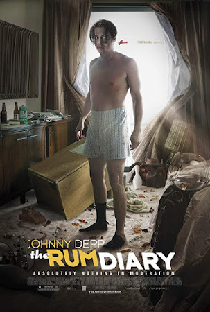 Poster Of The Rum Diary 2011 In Hindi Bluray 720P Free Download