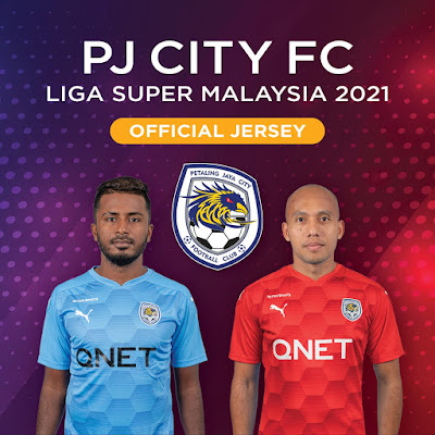 Jersi Home Away PJ City FC 2021
