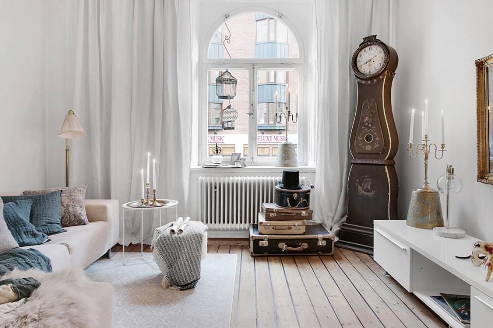 Detalii vintage într-o garsonieră de 30 m² din Stockholm