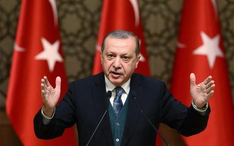 Ο Ερντογάν «άλλαξε» την ονομασία του Αιγαίου