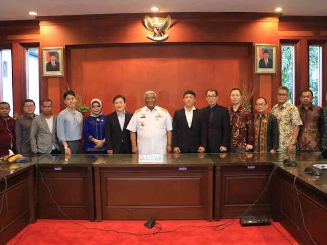 Ali Mazi Meminta Investasi PT. Indonesia Natural Core di Sultra Dipermudah