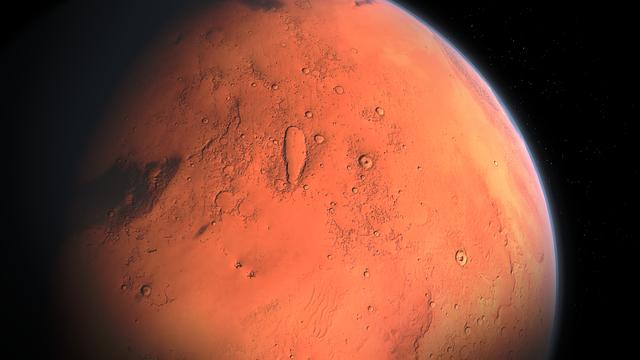 sistem tata suerya : mars