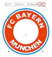 Cara Cepat Membuat Logo Tim Sepak Bola Bayern Munchen dengan CorelDRAW X4