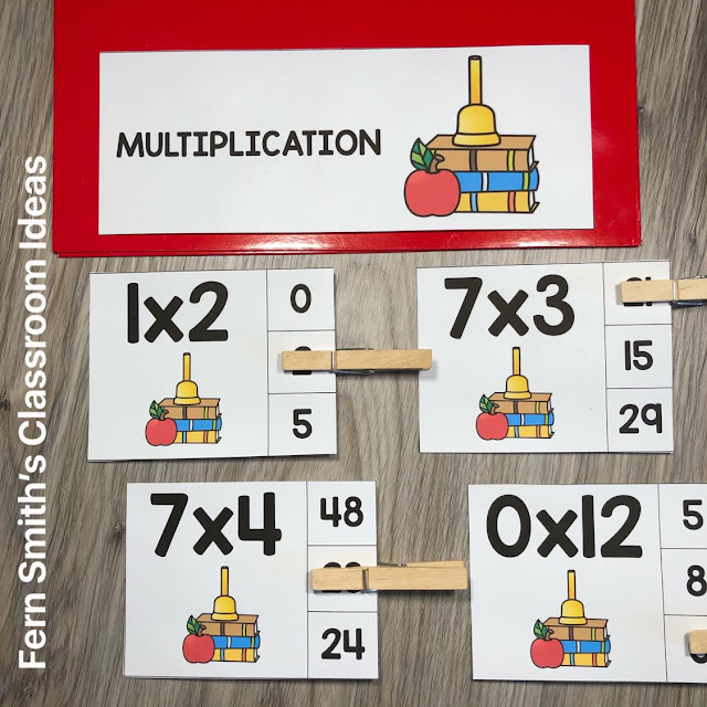 https://www.teacherspayteachers.com/Product/Back-to-School-Clip-Cards-Multiplication-0-to-12-Basic-Facts-4621793