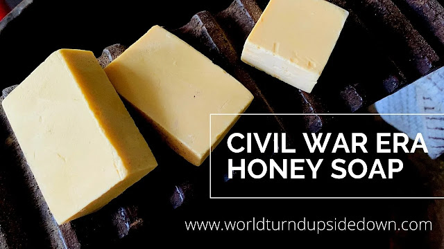 Civil War Soap Recipe