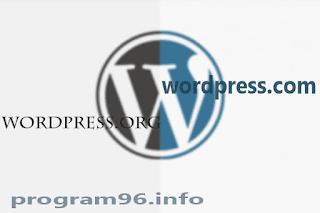ما الفرق بين wordpress.com و wordpress.org