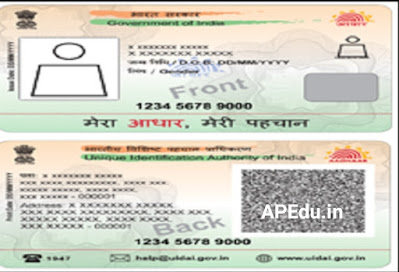 You can change your Aadhaar card to Visiting Card size in just 5 minutes.