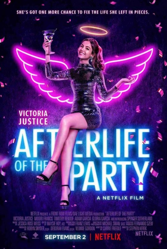 Afterlife Of The Party, Comedy, Drama, Family, Fantasy, Netflix, Movie Review by Rawlins, Rawlins GLAM, Rawlins Lifestyle
