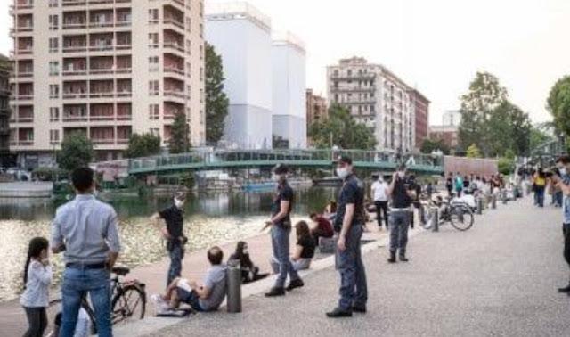 جدل كبير ..ايطاليا تستعد لنشر60 الف مساعد مدني لمساعدة المواطنين على احترام التباعد الاجتماعي
