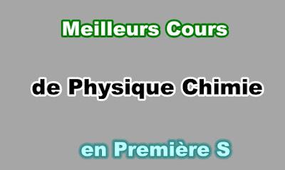 Cours Physique Chimie Première S Gratuit en PDF