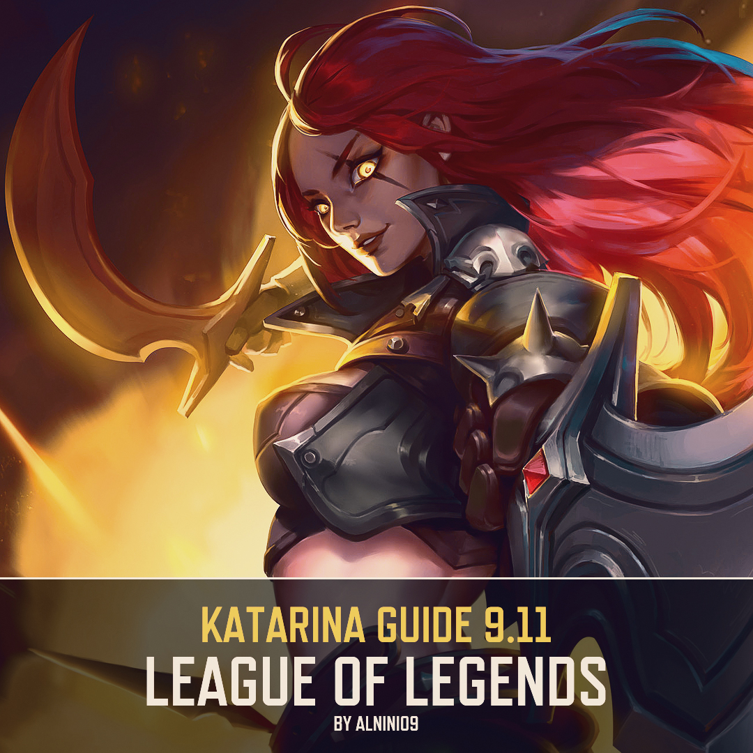 MIX: Katarina Guide 9 11 ~ ALL Viable Runes & Items