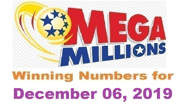 Mega Millions Winning Numbers for Friday, December 06, 2019