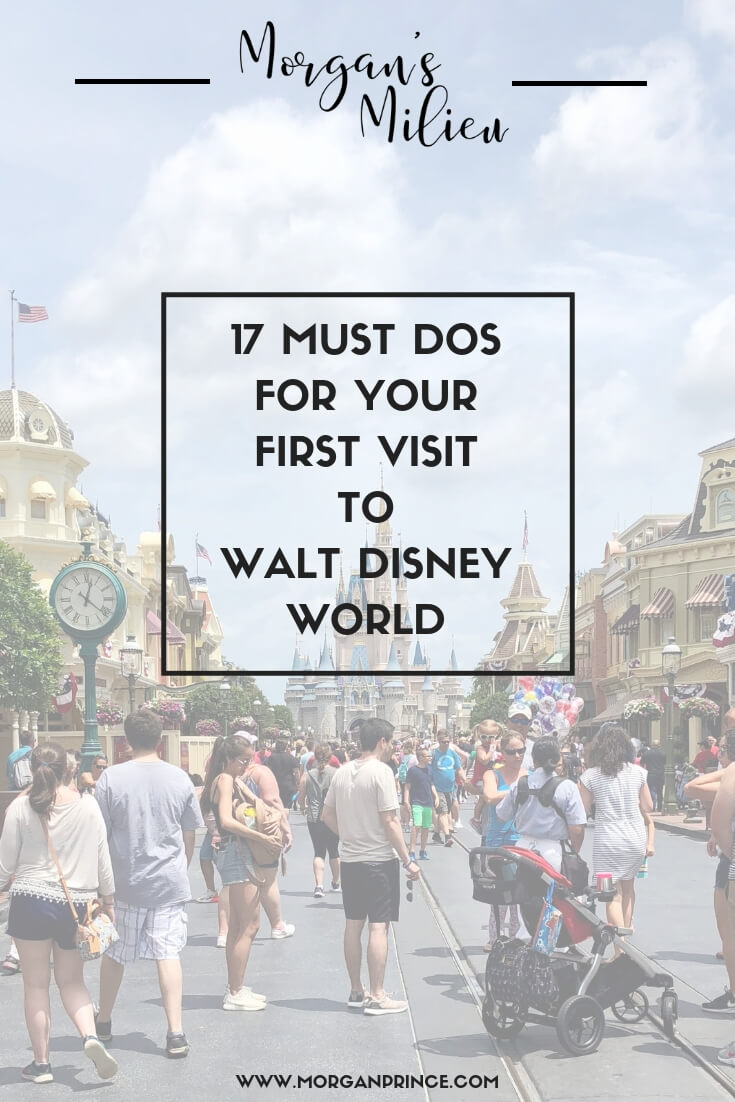 17 Must Dos For Your First Visit To Walt Disney World | Want to know which things to focus on during your first trip - check out number 8! Click now or pin to read later.