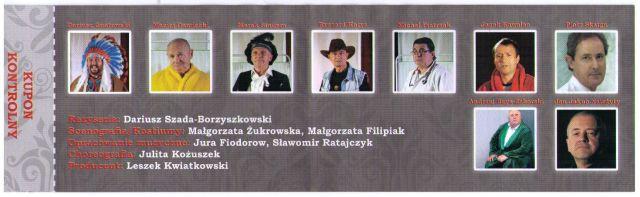 aktorzy, występ, Andropauza, Sulechów
