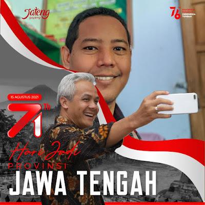 Link Twibbon Hari Jadi Provinsi Jawa Tengah Ke-71, 15 Agustus 2021
