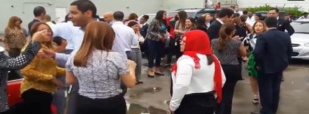 Temblor de tierra causa pánico en Santo Domingo