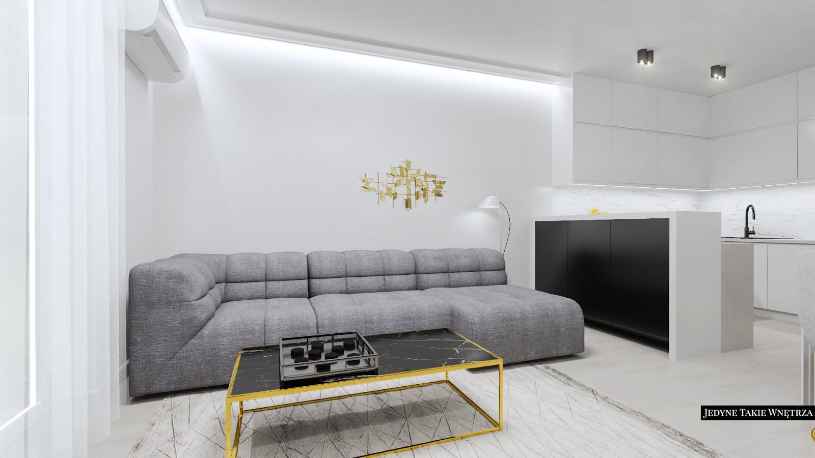Współczesny glamour, minimalizm i złoto