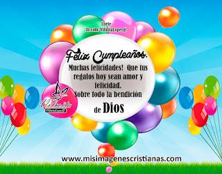 Feliz Cumpleaños Deseos Cristianos 3