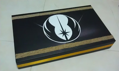 Jedi birthday box