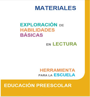 Exploración de habilidades básicas en lectura - Preescolar - SISAT