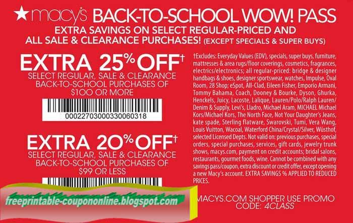 Macys mac coupon