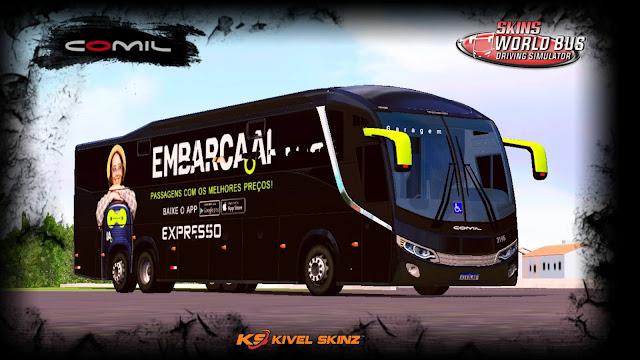 COMIL 1200 6X2 - VIAÇÃO EMBARCA (VIAÇÃO EXPRESSO)