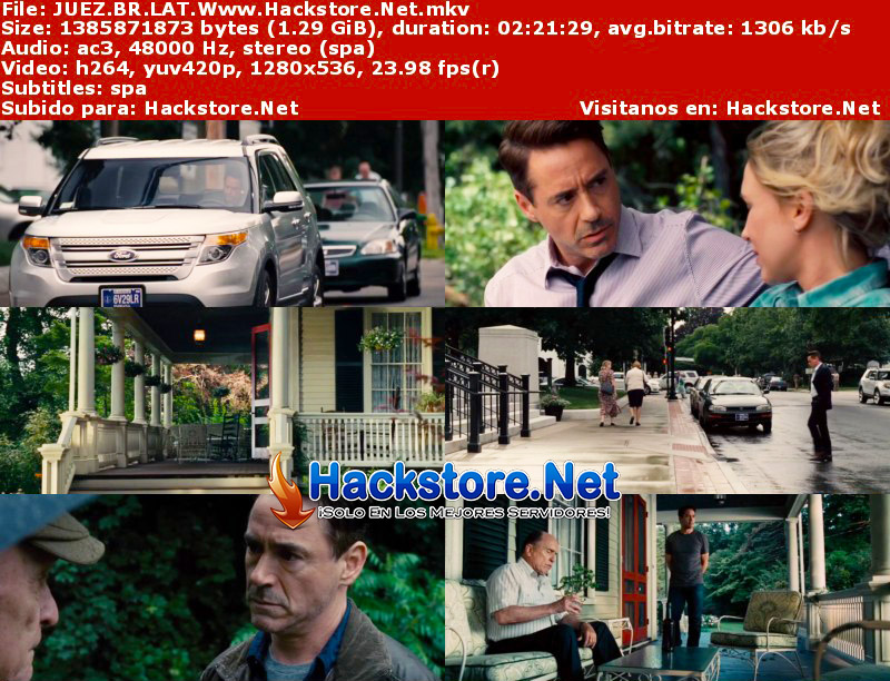 Capturas de El Juez (2014) Blu-Ray RIP HD Latino