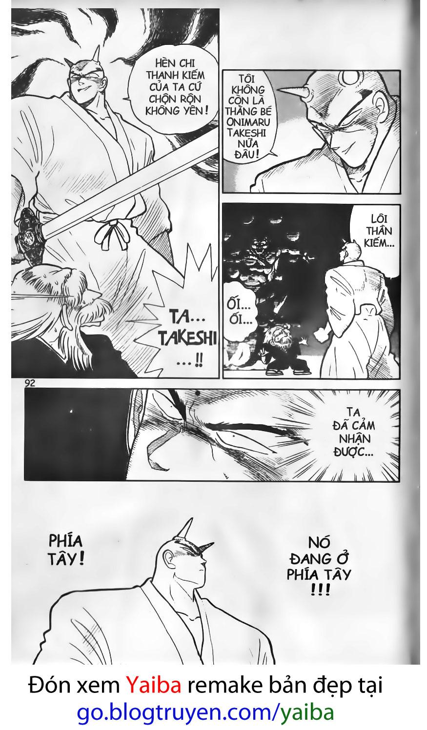 Yaiba chap 14 trang 14