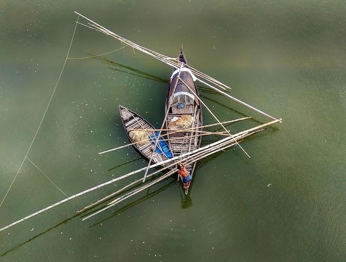 Fishing triangle