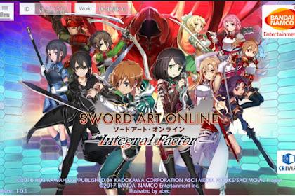 Download Game Android Sword Art Online: Integral Factor