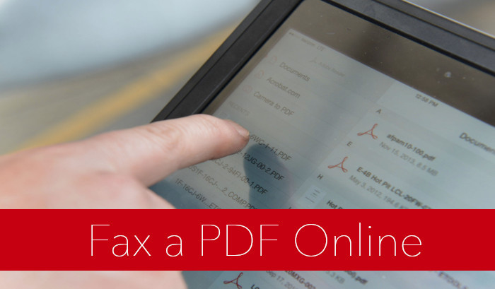 How to Send a PDF to a Fax Machine Easily Quickly and Securely?
