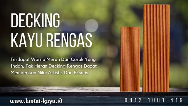 Info Harga lantai kayu outdoor decking rengas