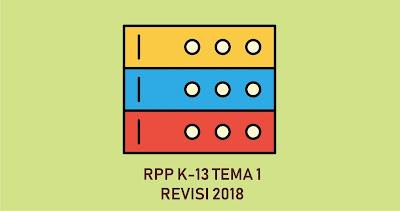 Download RPP K13 Revisi  Kelas I tema 1 lengkap